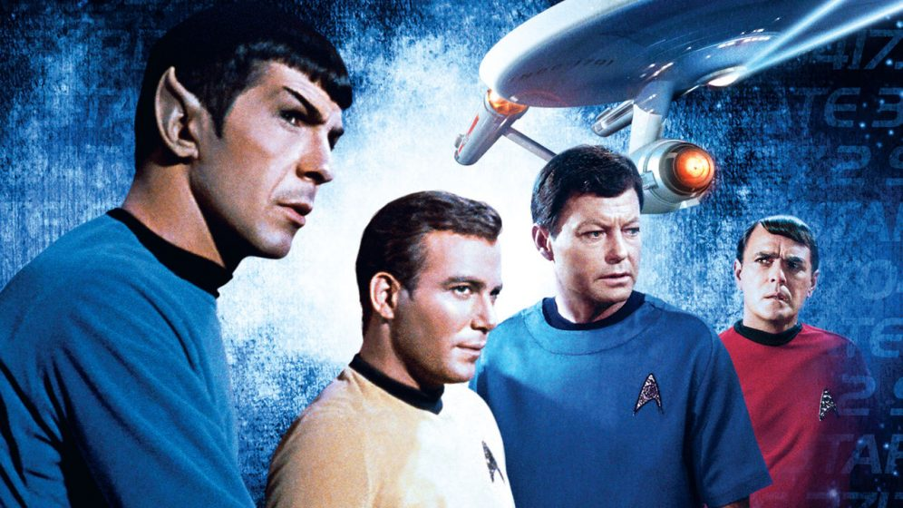 Captain Kirk and Crew
